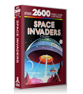 Space Invaders Cover Red