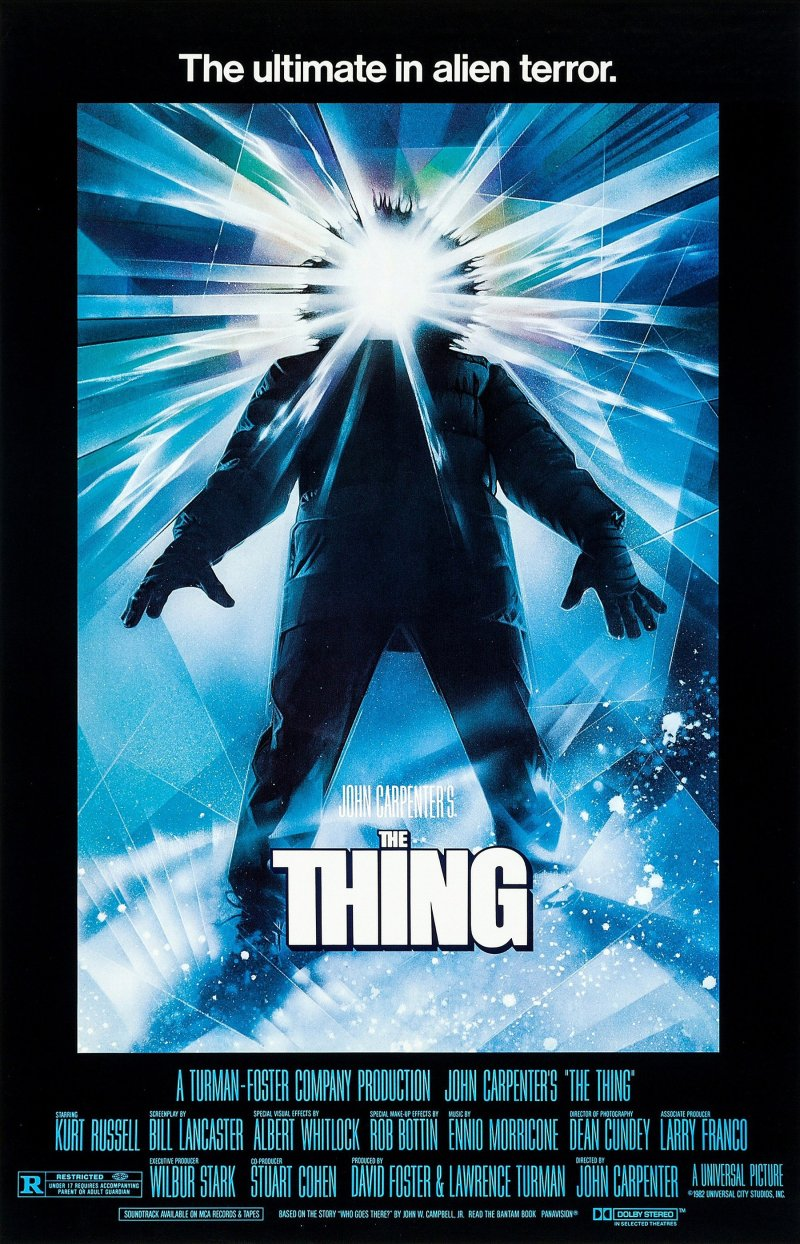 The Thing poster