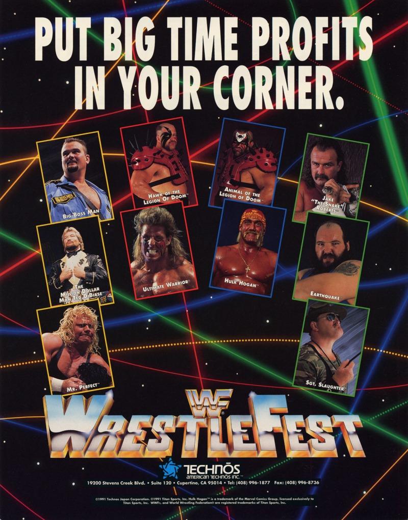 WWF Wrestlefest poster