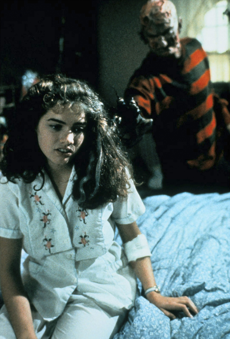 A Nightmare On Elm Street Krueger and Nancy