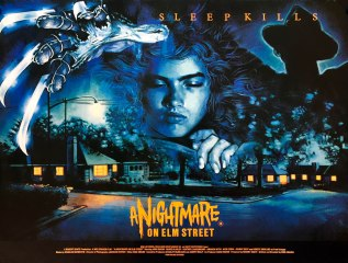 A Nightmare On Elm Street UK poster