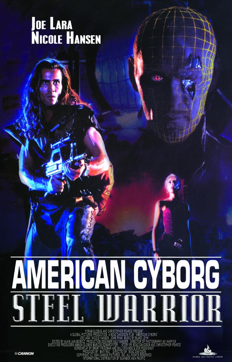 American Cyborg Steel Warrior poster
