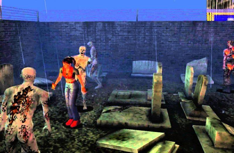 Code Veronica Graveyard