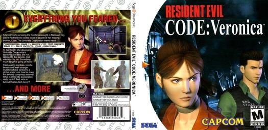 Code Veronica NTSC-U