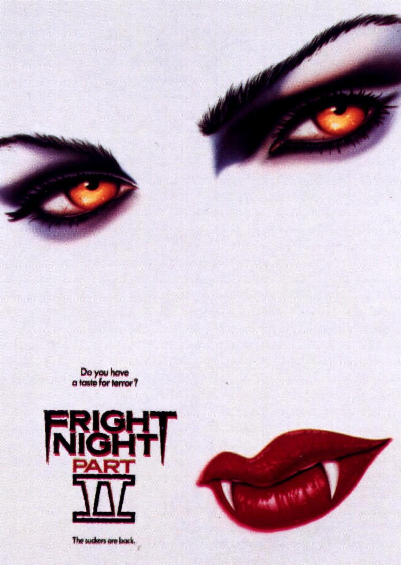 Fright Night Part II poster