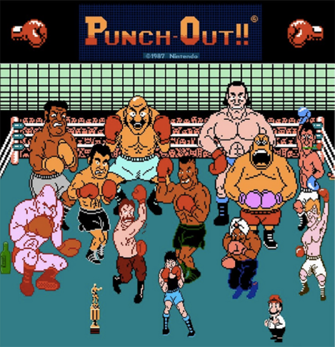 Mike Tyson's Punch Out Characters