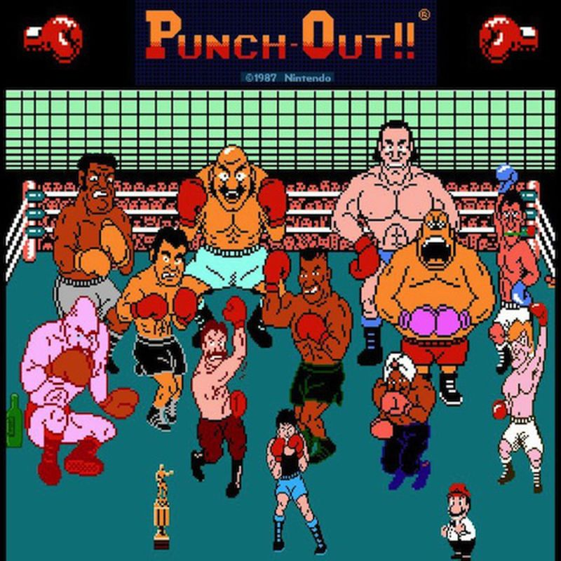 Mike Tyson's Punch-out NES characters