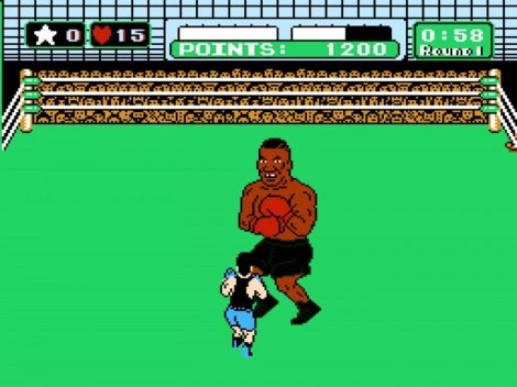 Mike Tyson's Punch Out Tyson