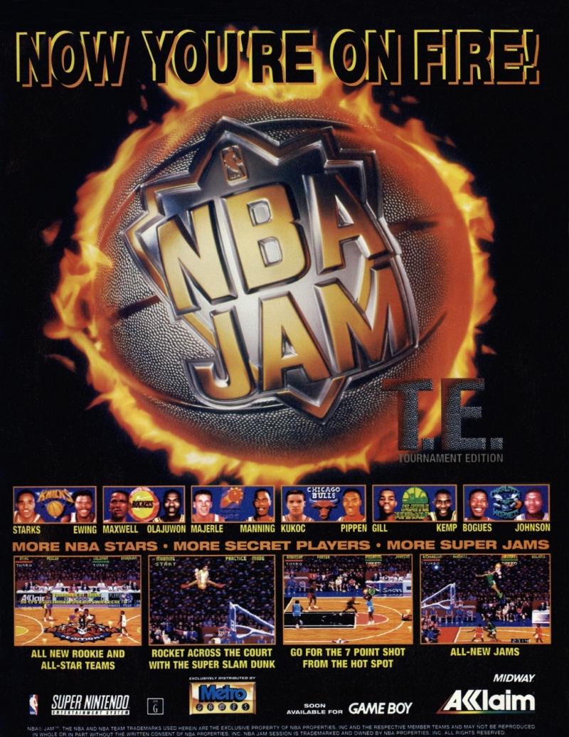 NBA Jam TE poster