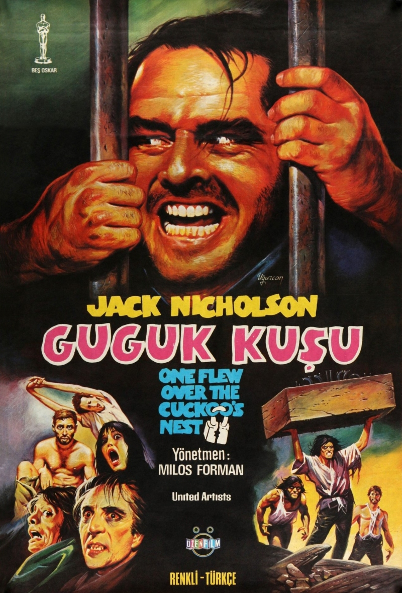 One Flew Over the Cuckoo's Nest Turkish Poster