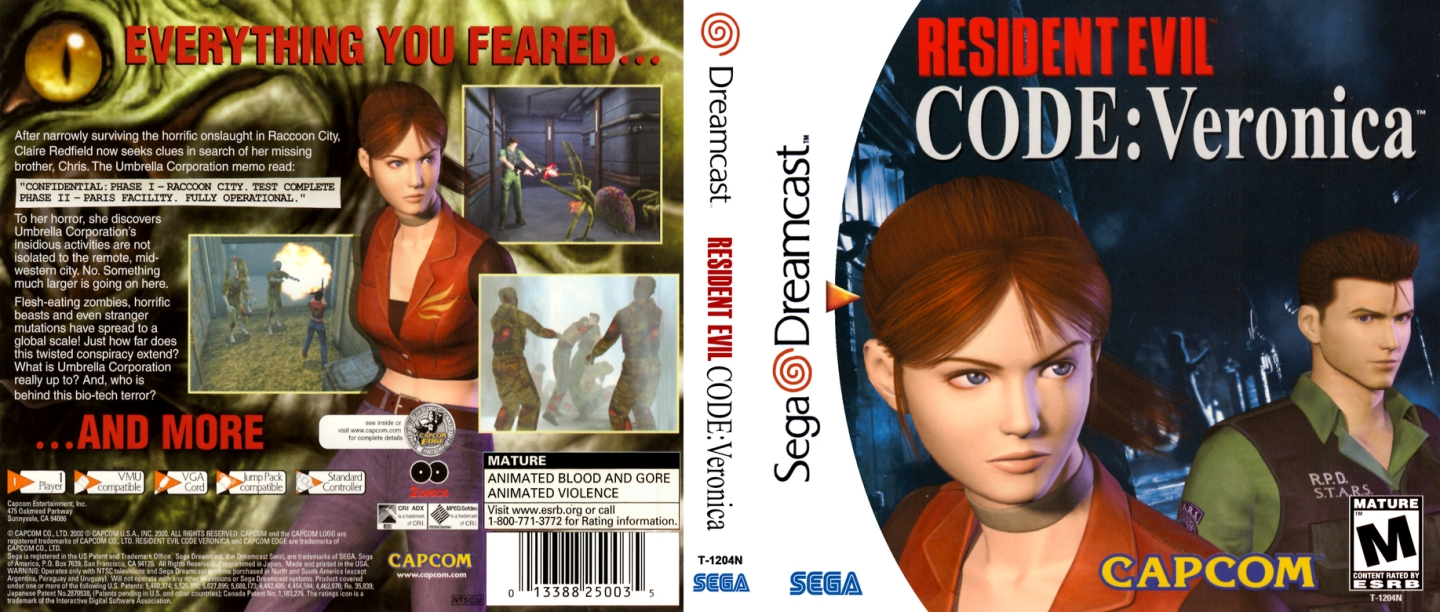 Resident Evil Code Veronica featured