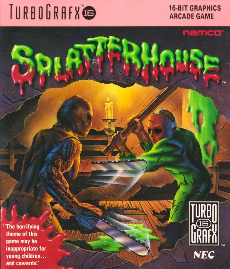 Splatterhouse PC Engine
