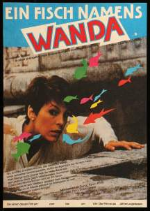 A Fish Called Wanda German poster