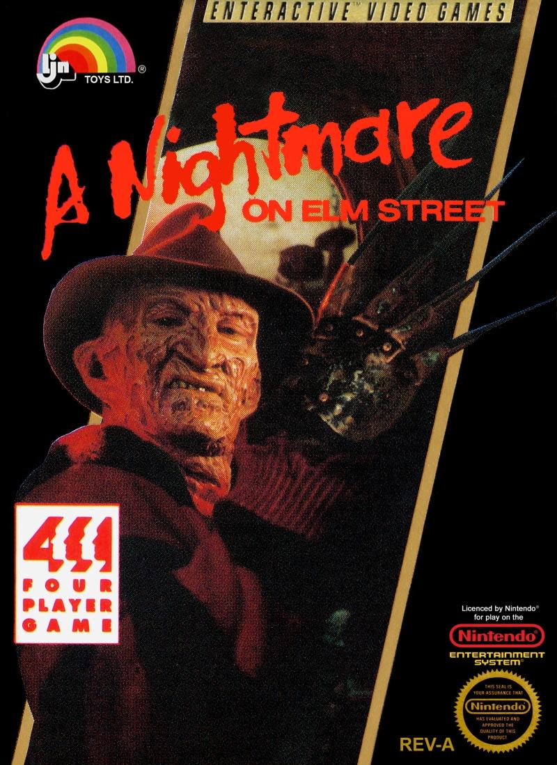 A Nightmare on Elm Street NES cover