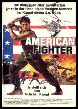 American Ninja German Poster