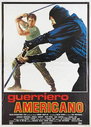 American Ninja Italian Poster