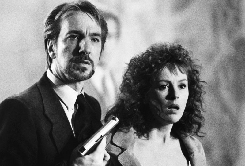 Hans Gruber and Holly McClane