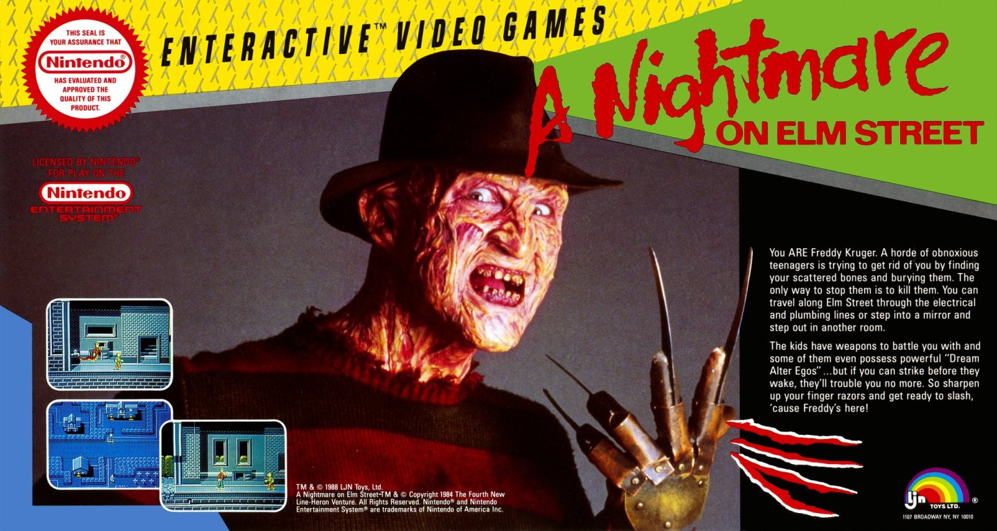 Nightmare on Elm Street NES featured