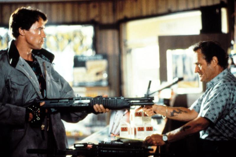 The Terminator gun shop