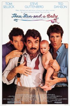 Three Men and a Baby poster