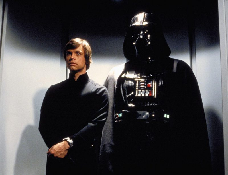 Vader and Luke