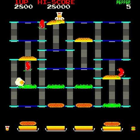 BurgerTime Arcade Version
