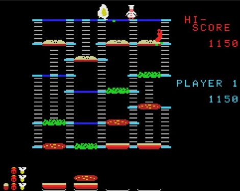 BurgerTime Colecovision Version