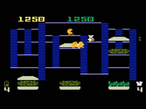 BurgerTime Intellivision Version