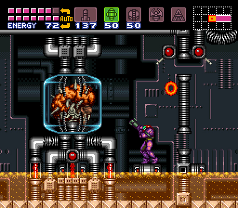 Super Metroid: a visual treat.
