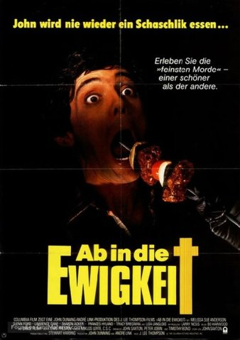 Happy Birthday to Me German poster