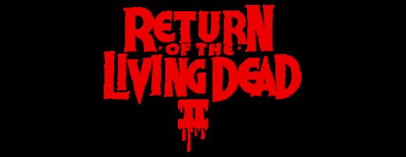 Return of the Living Dead II logo