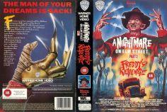 Freddy's Revenge VHS