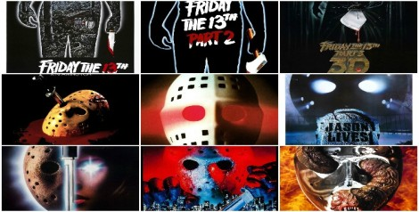 Friday the 13th collage featured