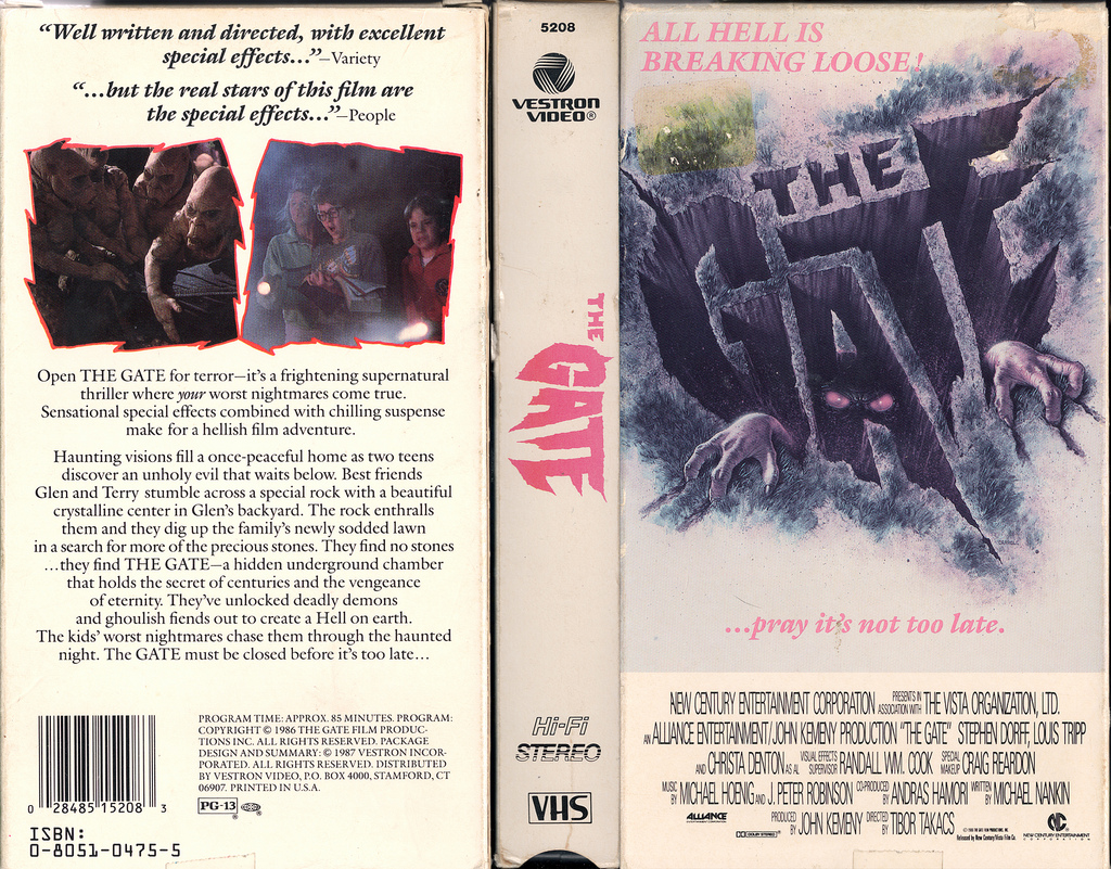 The Gate VHS