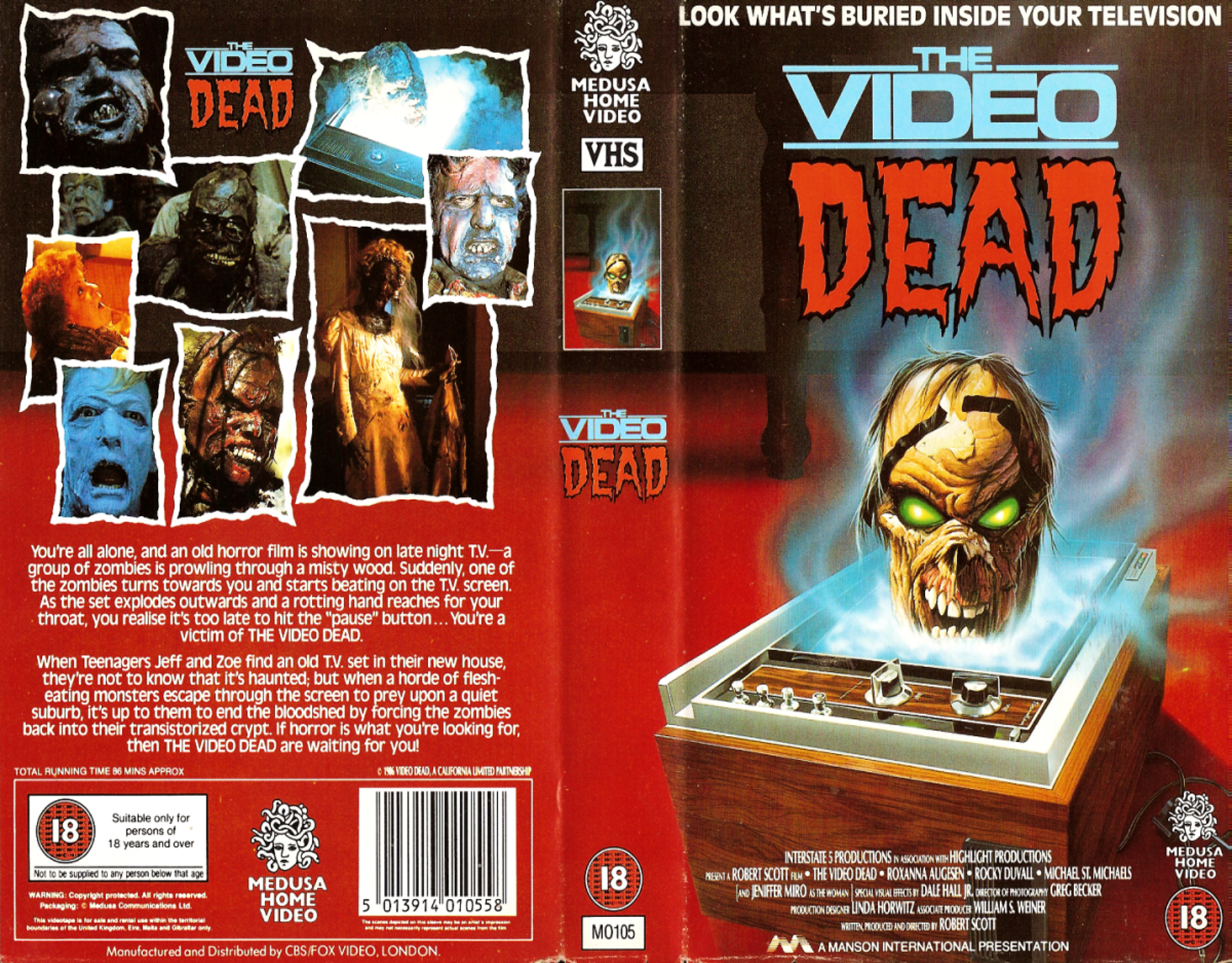 The Video Dead VHS side 2