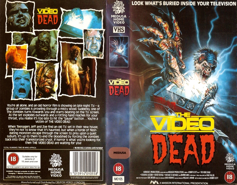 The Video Dead VHS
