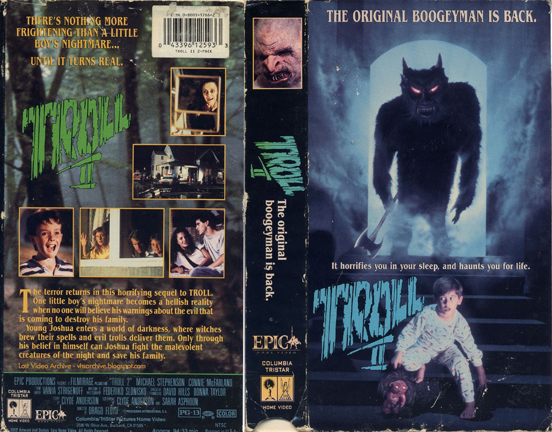 Troll 2 VHS