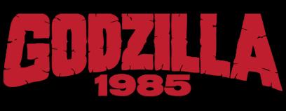 Godzilla 1985 logo