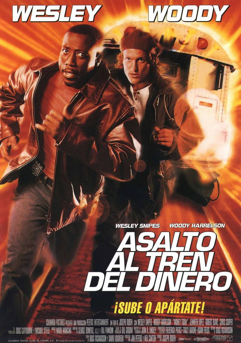 Money Train Spanish poster