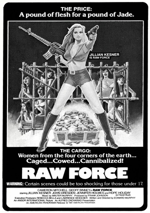 Raw Force poster 2