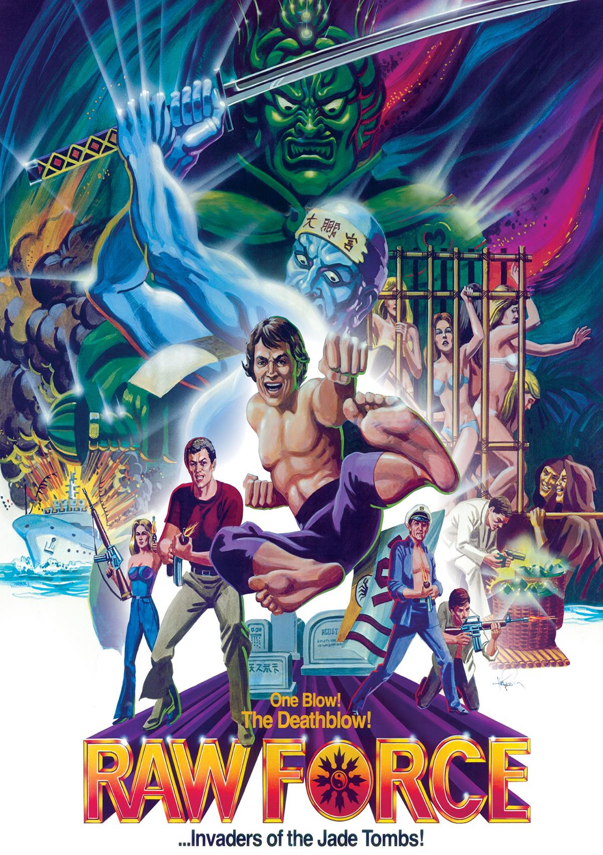 Kung-Fu Cannibals aka Raw Force (1982) – VHS Revival