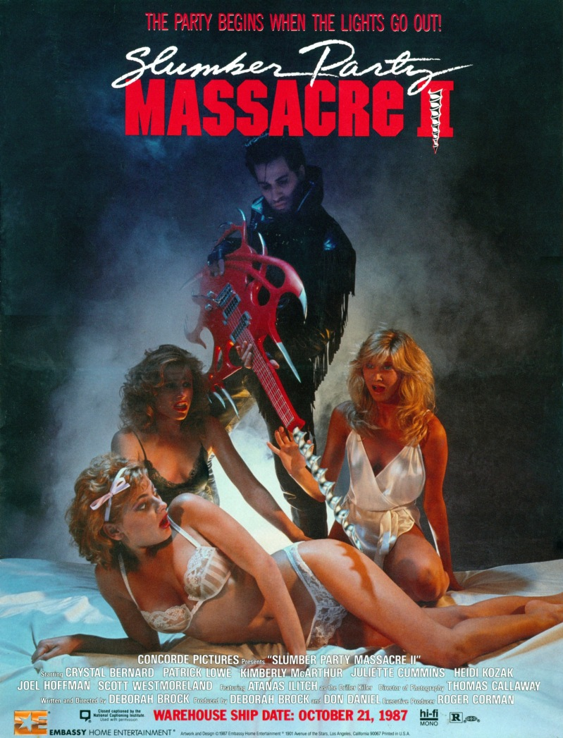 Slumber Party Massacre 2 poster