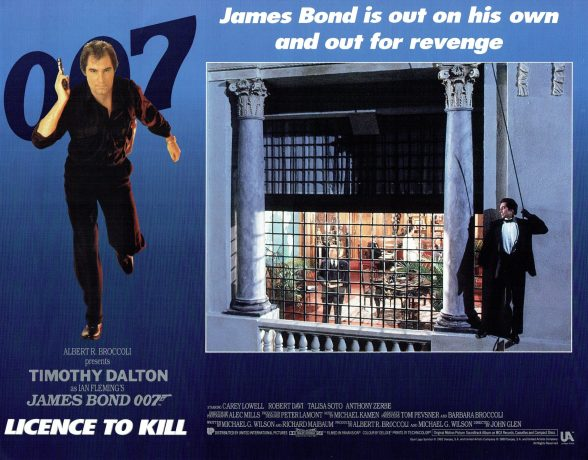 Licence to Kill alternate poster