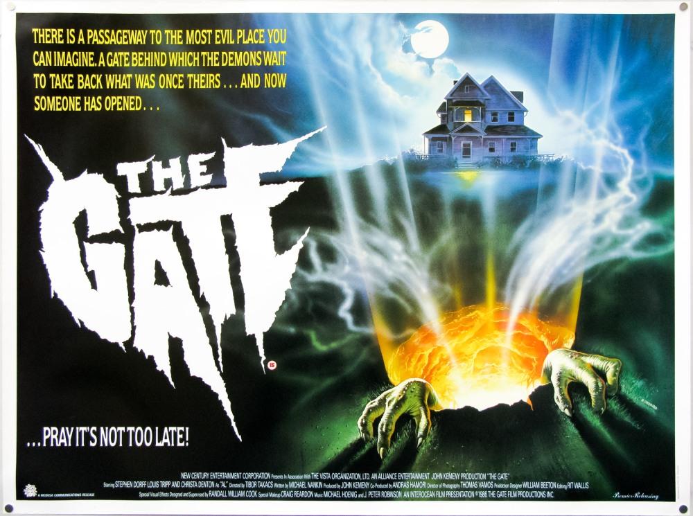 The Gate UK quad poster – VHS Revival