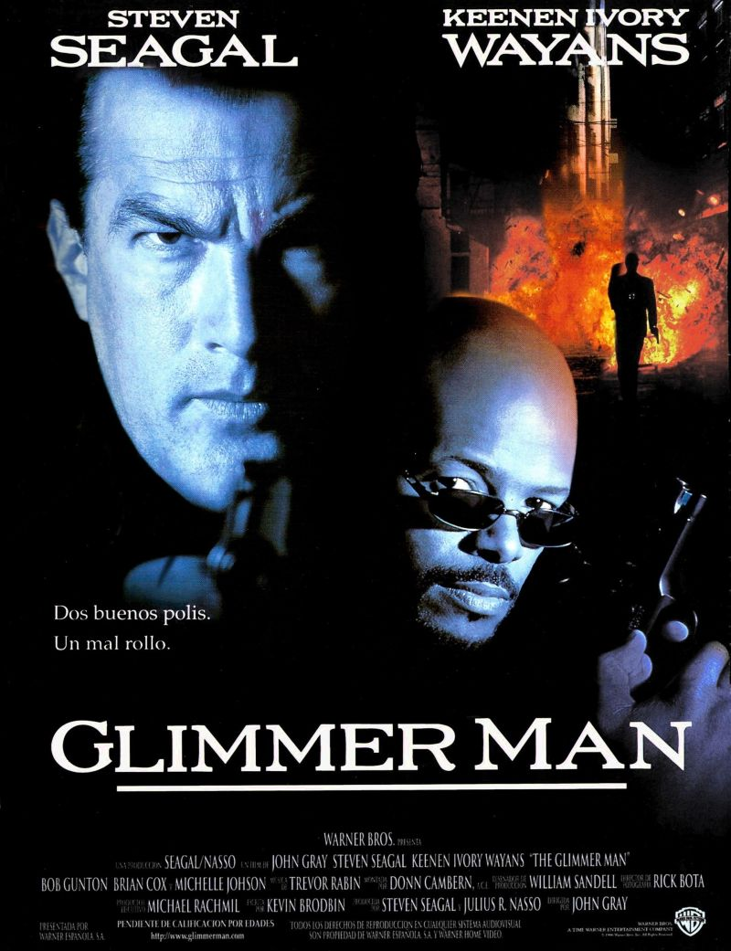 The Glimmer Man poster