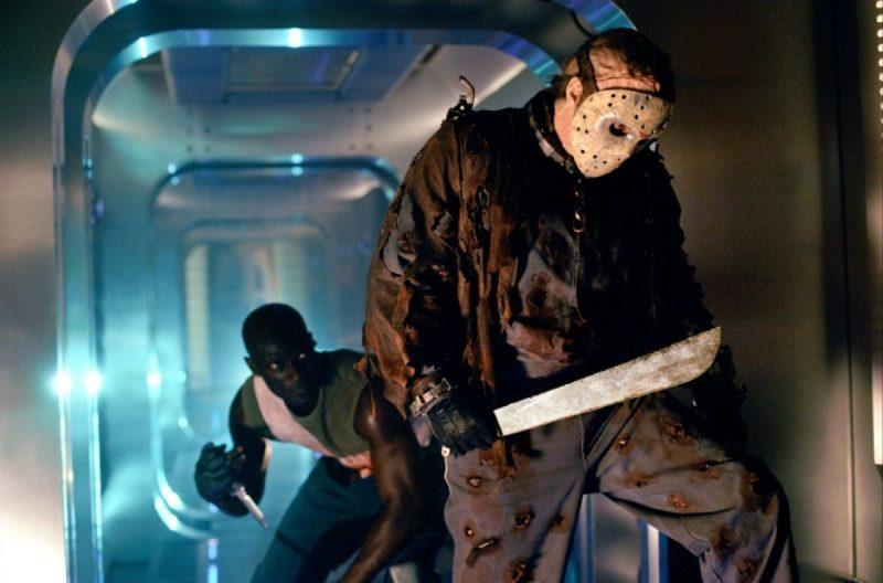 Jason X battle