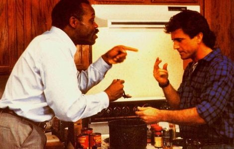 Lethal Weapon 2 cooking