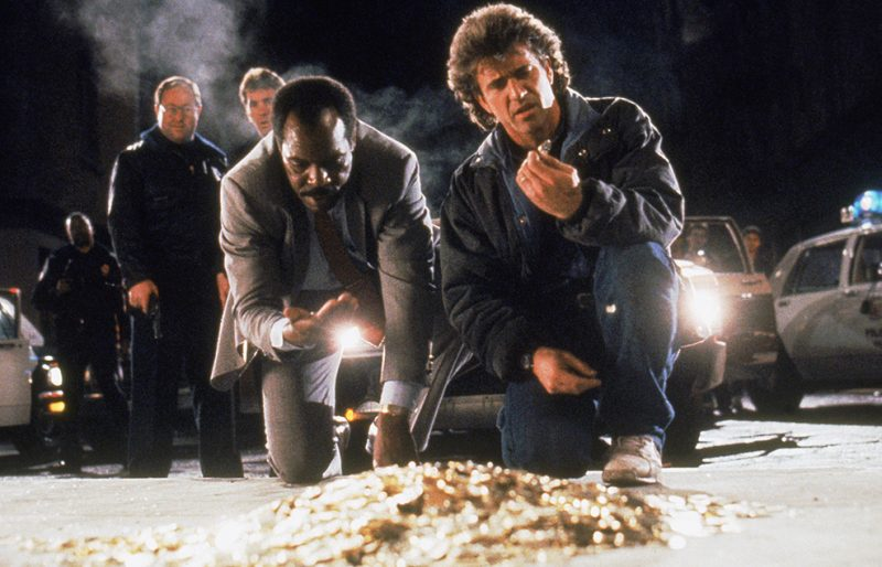 Lethal Weapon 2 Riggs and Murtaugh