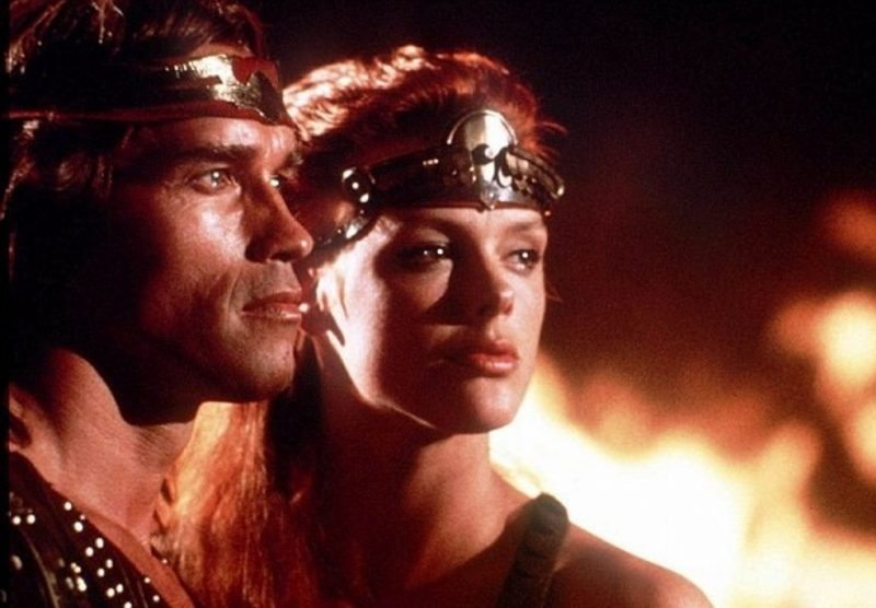 Red Sonja Arnie and Bridgette