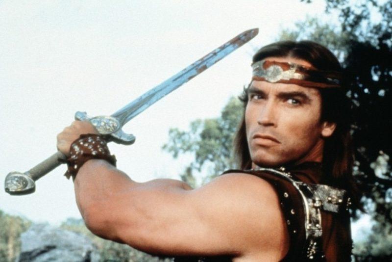 Red Sonja sword